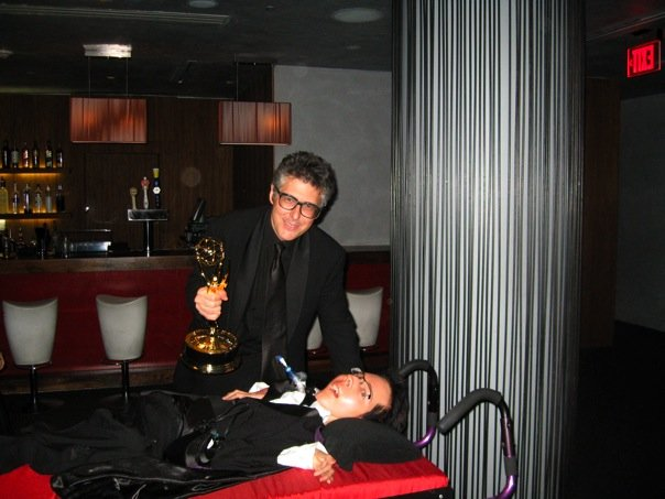 Michael with Ira Glass and the Emmy